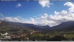 Webcam di Cusano Mutri colle Calvario Osservatorio Sismico Luigi Palmieri