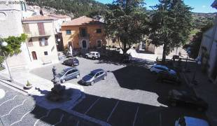 Webcam di Carovilli Piazza Municipio
