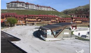 Webcam di Campitello Matese piazzale biglietteria Funivie Molise Skipass