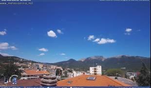 Webcam di Isernia - Panorama da Via Latina verso Miranda