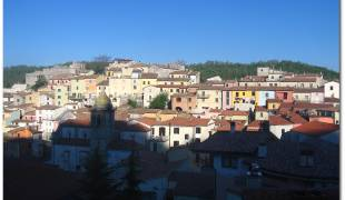 Webcam di Miranda - Panorama sul Castello