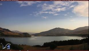 Webcam di Guardialfiera Lago panorama Agriturismo Montepeloso Diga Liscione