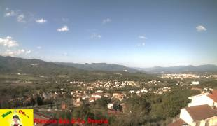 Webcam di Pesche - Panorama su Isernia