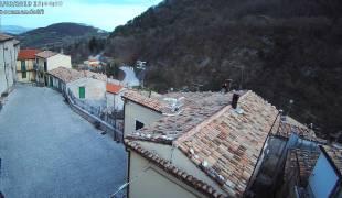 Webcam di Roccamandolfi Salita Municipio - Centro Storico
