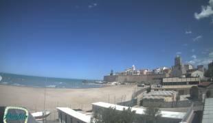 Webcam di Termoli Spiaggia - Da Lido Panfilo