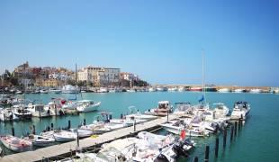 Webcam di Termoli Porto Turistico imbarco Isole Tremiti