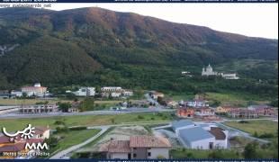 Webcam di Castelpetroso - Valico SS17 Santuario Fonte Astore Centro Messegue