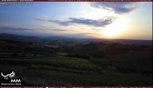 Webcam di Cupello CH Panorama da B&B Villa Laura