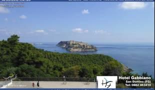 Webcam Isole Tremiti San Domino Hotel Gabbiano