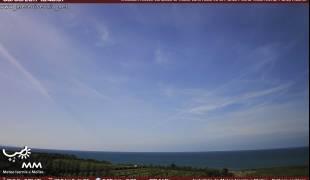 Webcam di Vasto (CH) vista Punta Aderci Riserva di Punta Penna