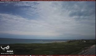 Webcam di Vasto (CH) vista porto dalla riserva di Punta Penna