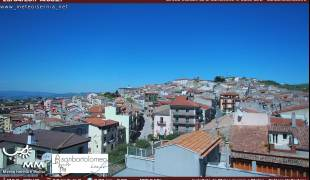 Webcam di San Bartolomeo In Galdo (BN) - Panorama Torre Civica