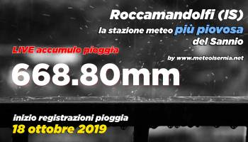 Record Meteorologici Appennino in tempo reale