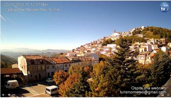 Webcam di Castiglione Messer Marino: nuovo importante ingresso per la nostra rete di monitoraggio
