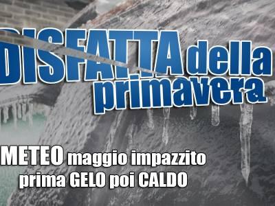 TEMPO ITALIA in arrivo freddo polare - Caldo estivo a seguire