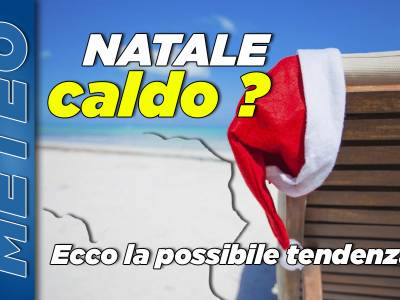 Temperature oltre la media fino a Natale