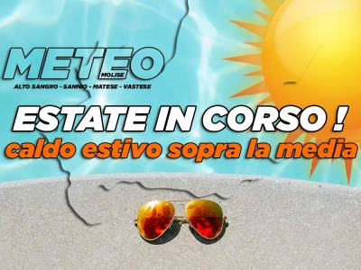 Estate con caldo sopra la media