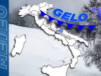 Neve e freddo nel Sannio