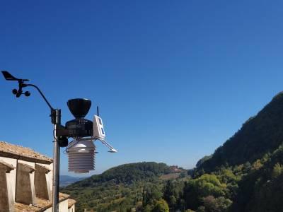 Il comune di Roccamandolfi si arricchisce di una nuova stazione meteorologica.