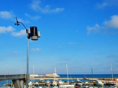 Termoli Porto: Arriva la nuova stazione meteorologica targata Marinucci Yachting e Meteoisernia