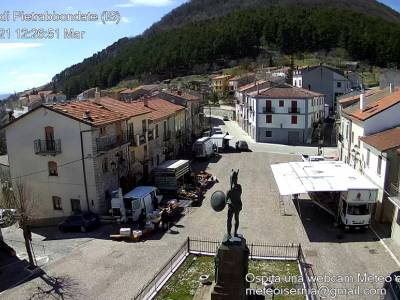Pietrabbondante in WEBCAM